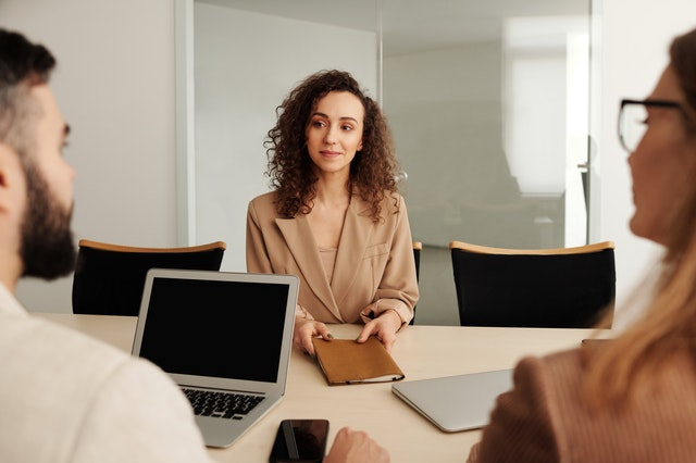 Be confident during job interview